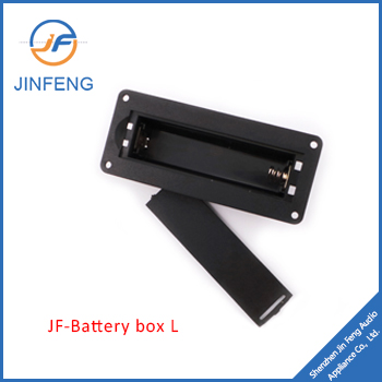 Single waterproof battery box JF-18650L