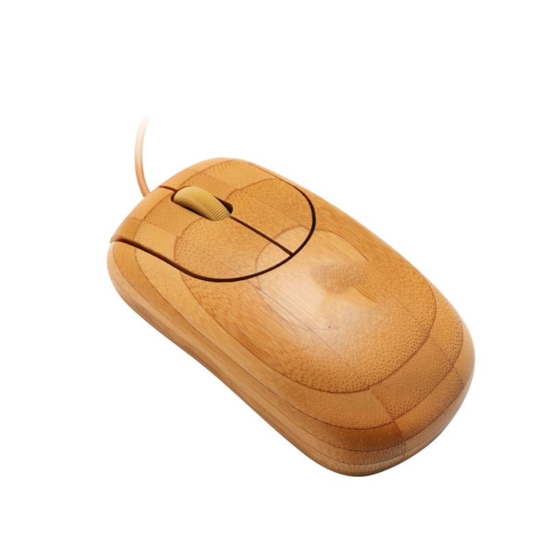 Wired bamboo mouse MU1055-N